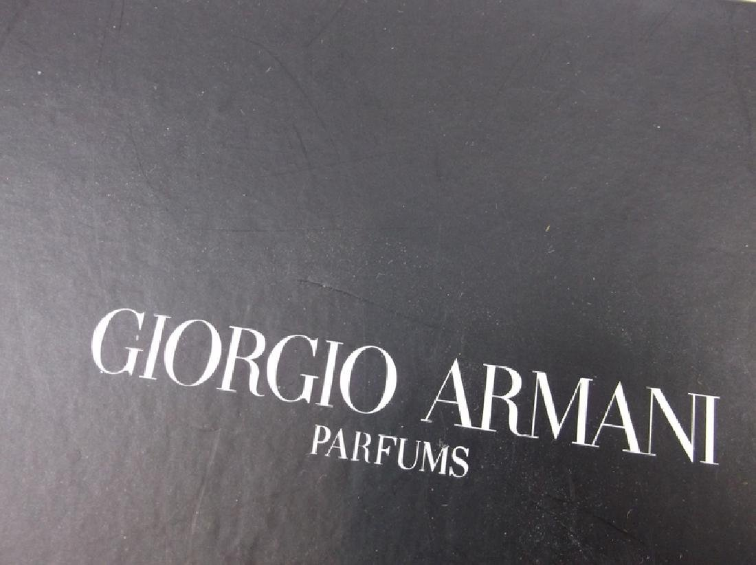 New Giorgio Armani Hard Cast Clutch In Box Black - 2