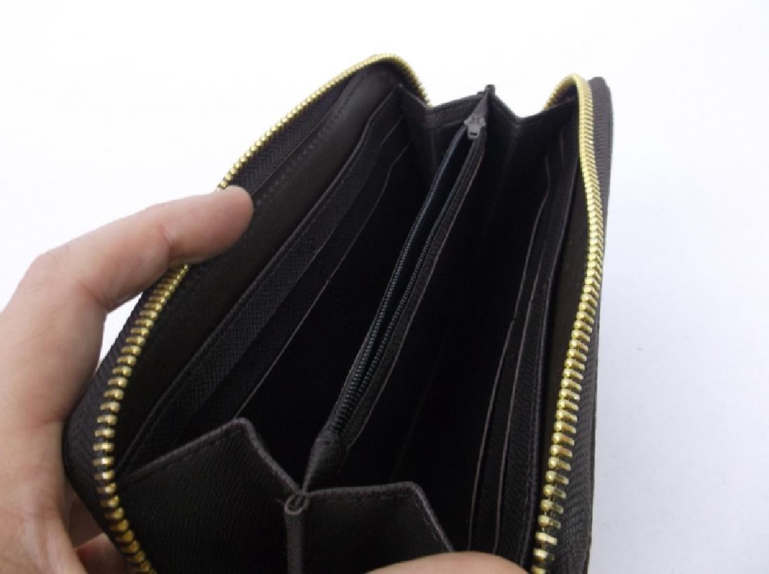 Louis Vuitton Wallet Clutch Brown Checkered - 4