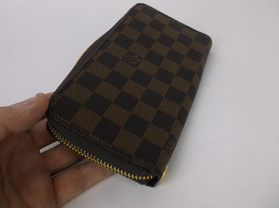 Louis Vuitton Wallet Clutch Brown Checkered - 5