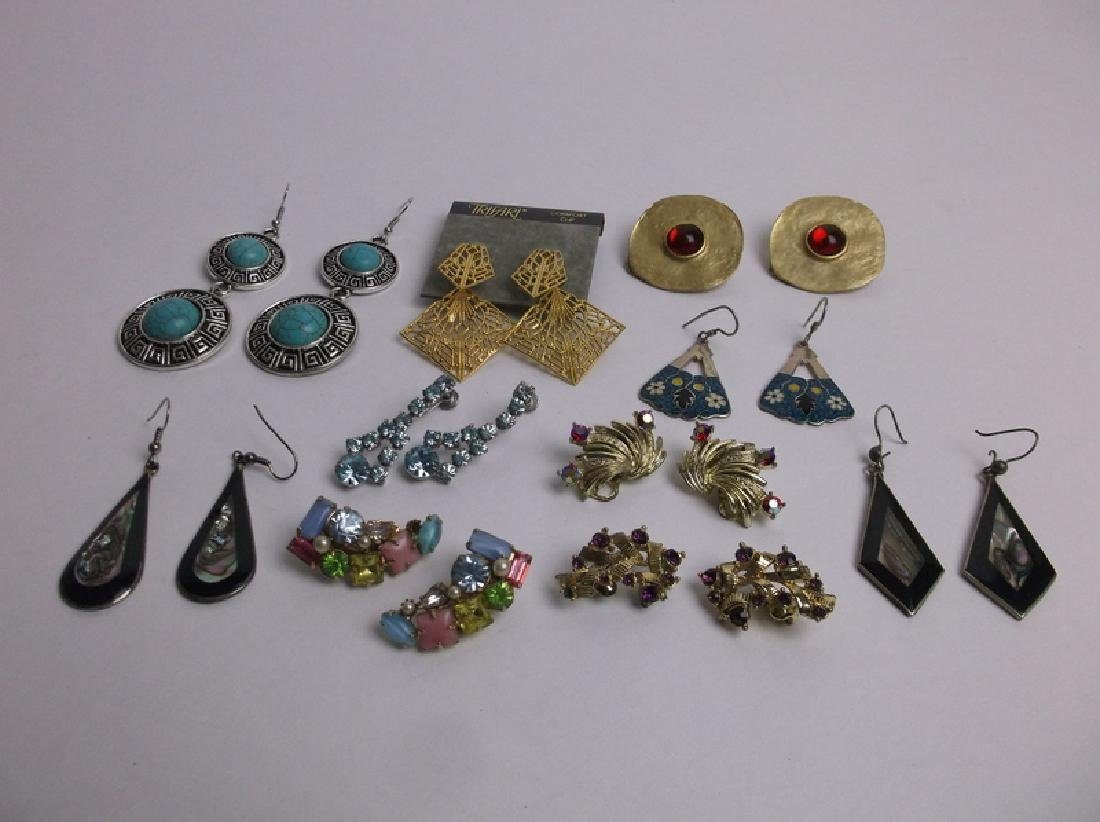 Estate Earrings Set Collection Trifari More