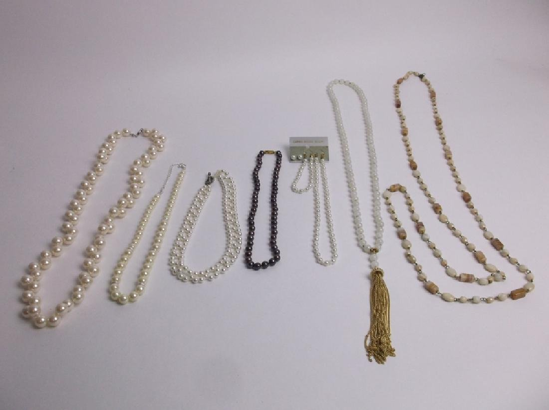 Estate Necklace Collection Lot