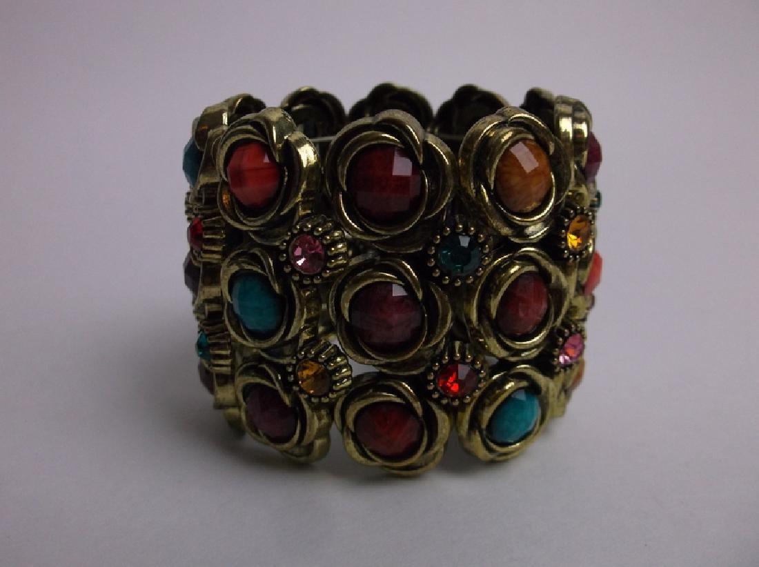 Gorgeous Large Rhinestone Bracelet