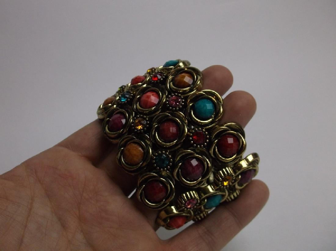 Gorgeous Large Rhinestone Bracelet - 2