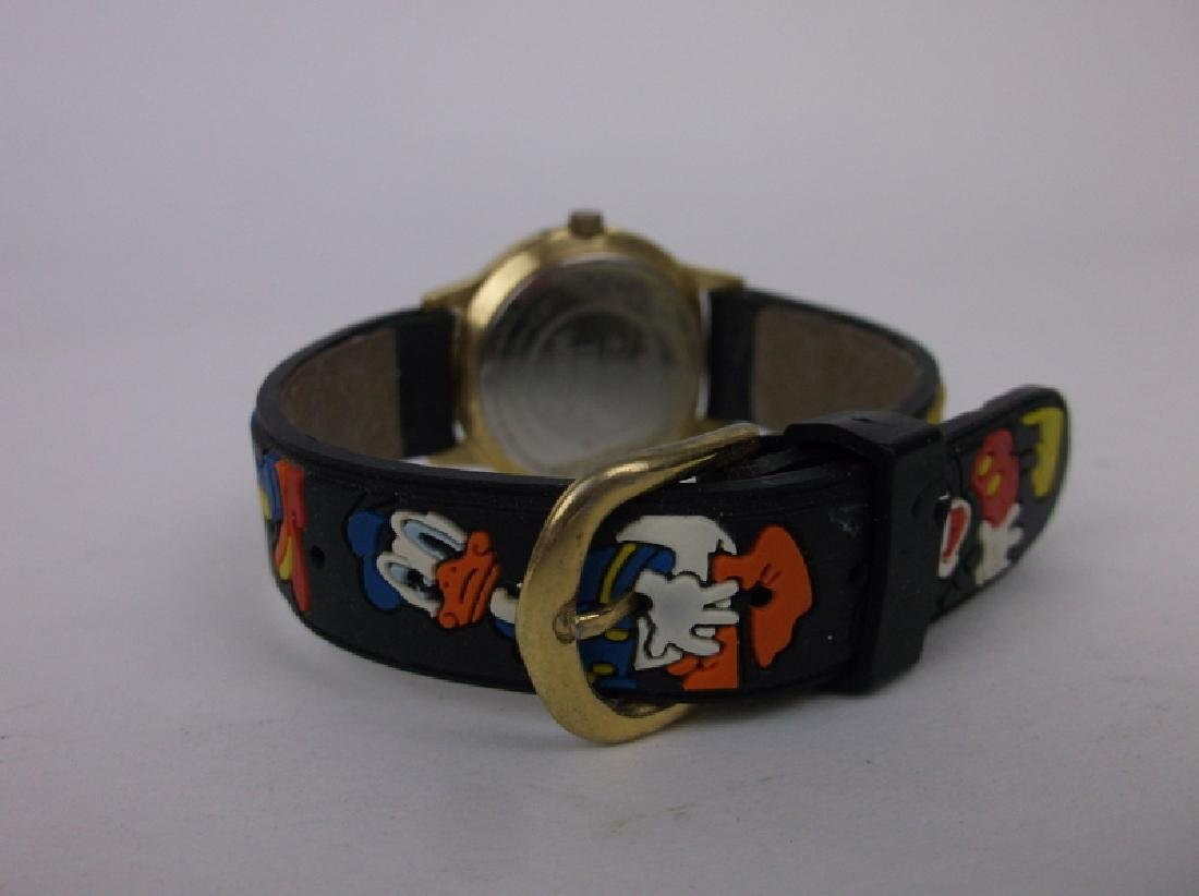 Disney Mickey Mouse Wristwatch Works Great - 3