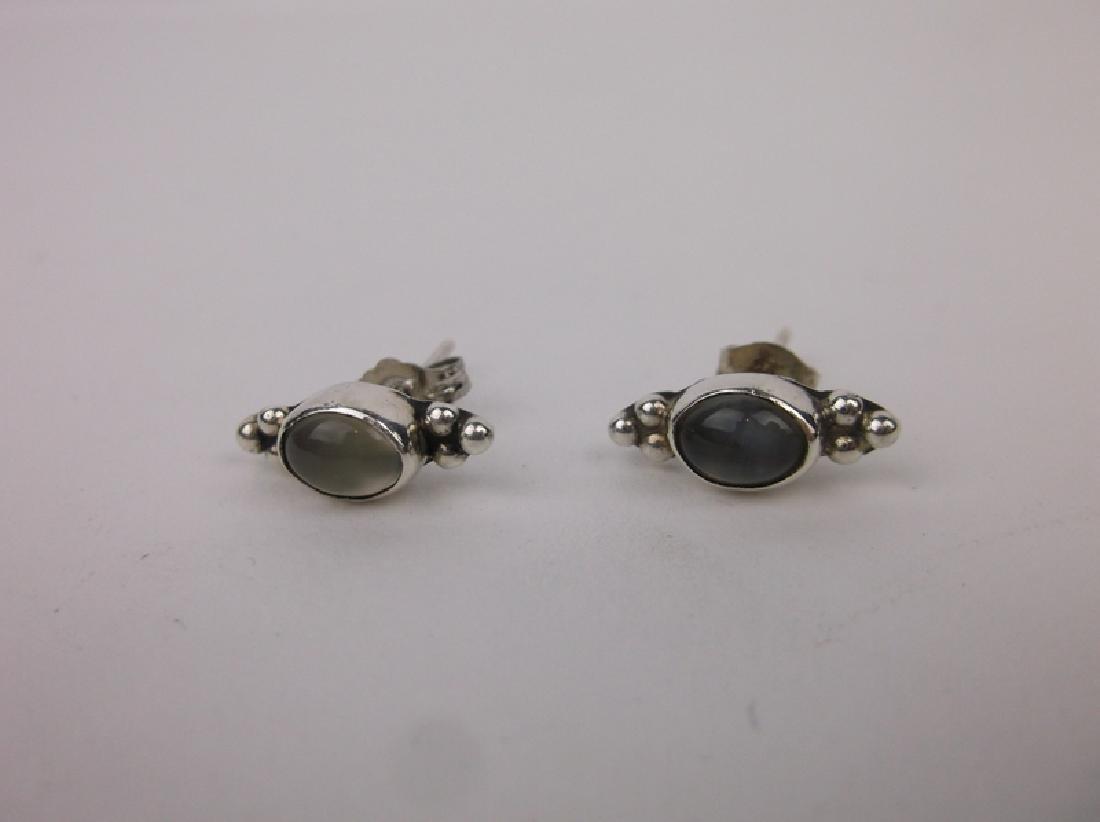 Gorgeous Sterling Silver Opalite Earrings