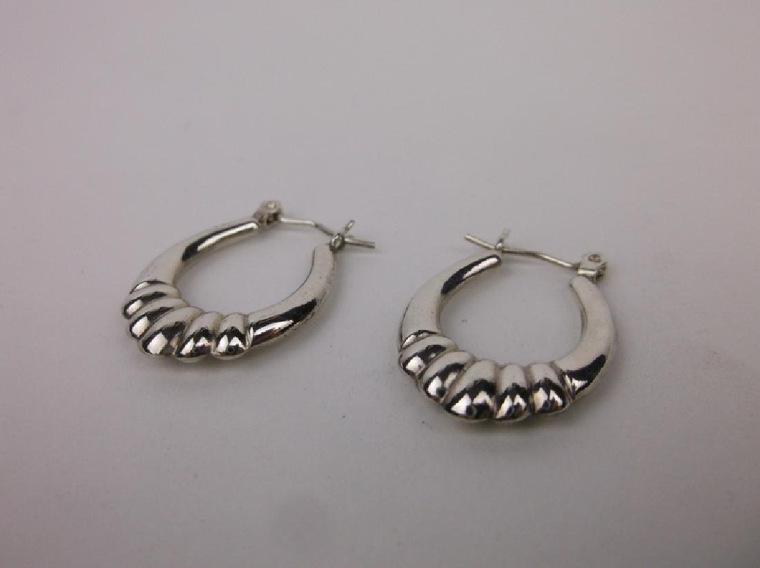 Goreous Sterling Silver Drop Earrings