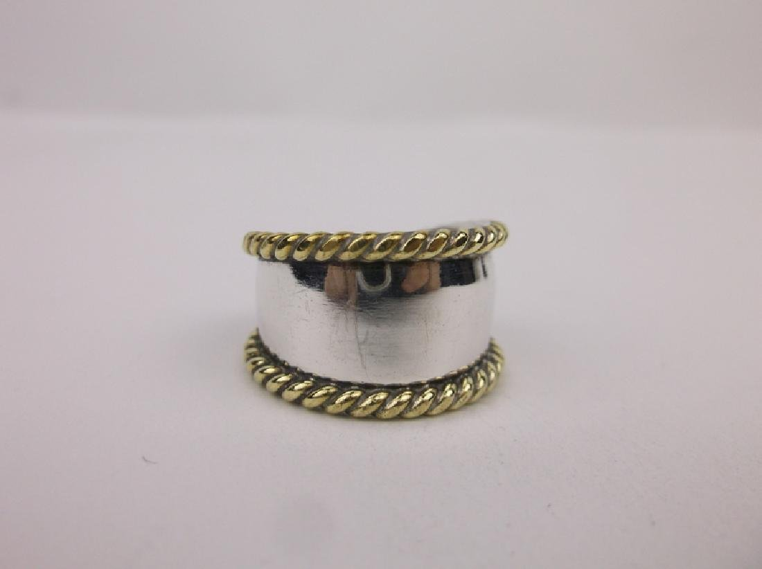 Gorgeous Taxco Sterling Silver Ring 8 TS-30