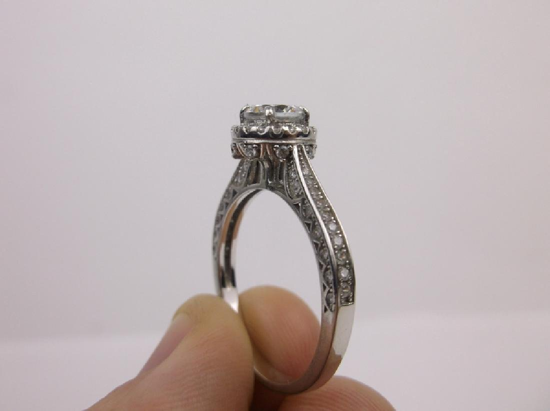 Stunning Sterling Silver Engagement Ring 11 - 2