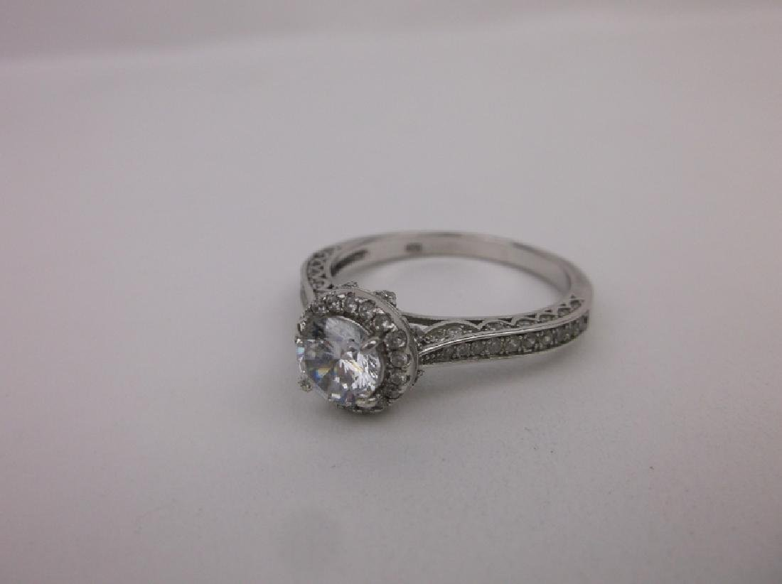 Stunning Sterling Silver Engagement Ring 11 - 3