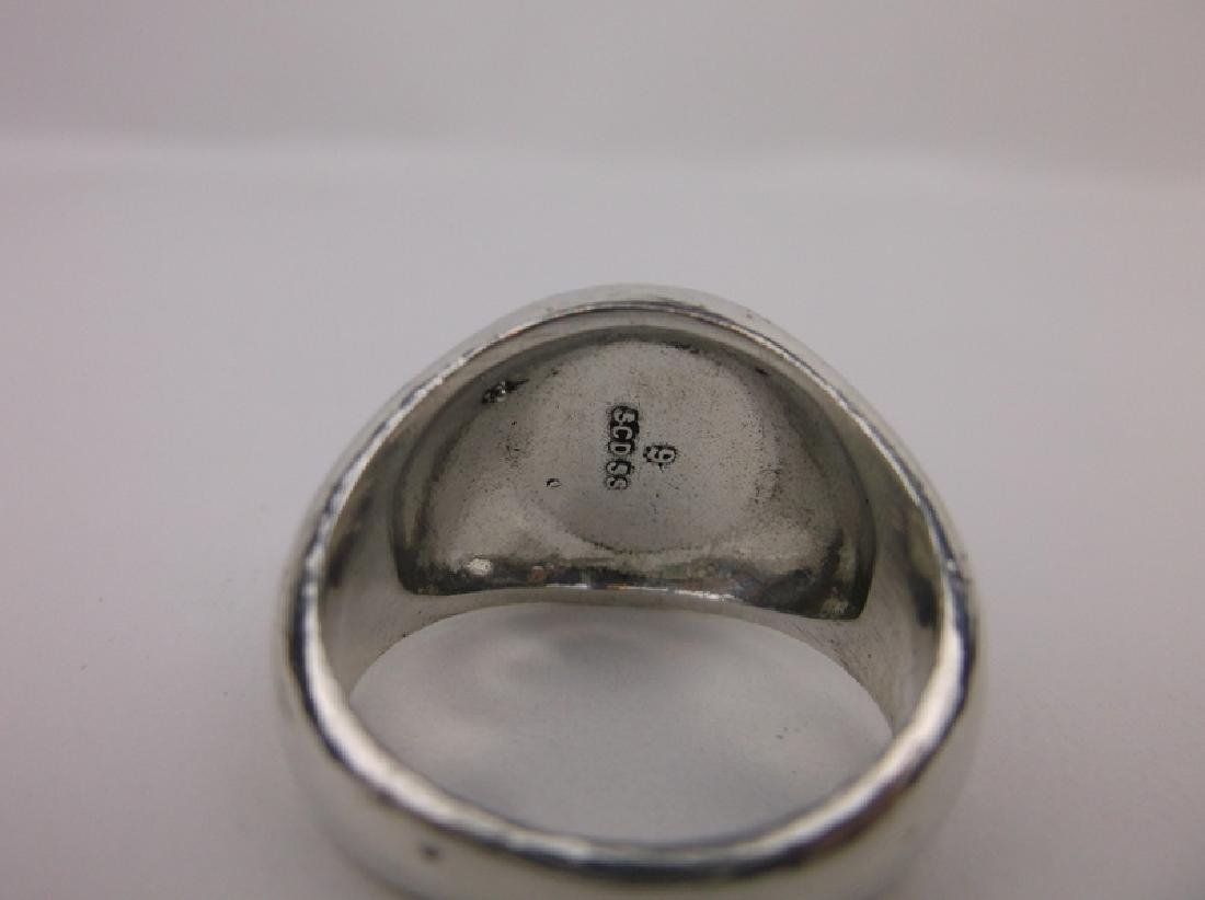 Gorg SCD Sterling Silver 9 Star Ring 8.5 Thick - 2