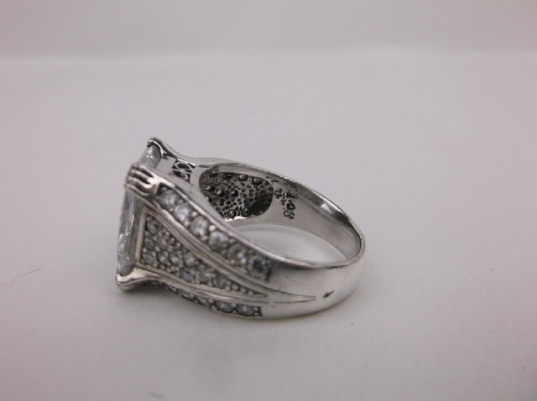 Stunn CC Sterling Silver Engagement Ring 7 - 3