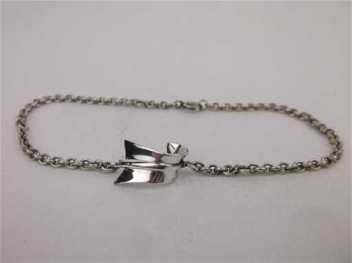 full image bracelet heart of copy products arrow large silver beauty project