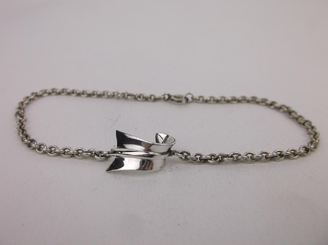 Antique Tiffany & Co Sterling Silver Arrow Bracelet