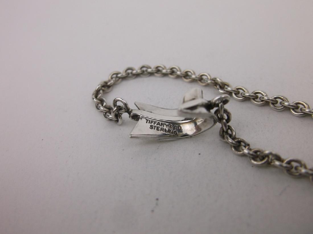 Antique Tiffany & Co Sterling Silver Arrow Bracelet - 3