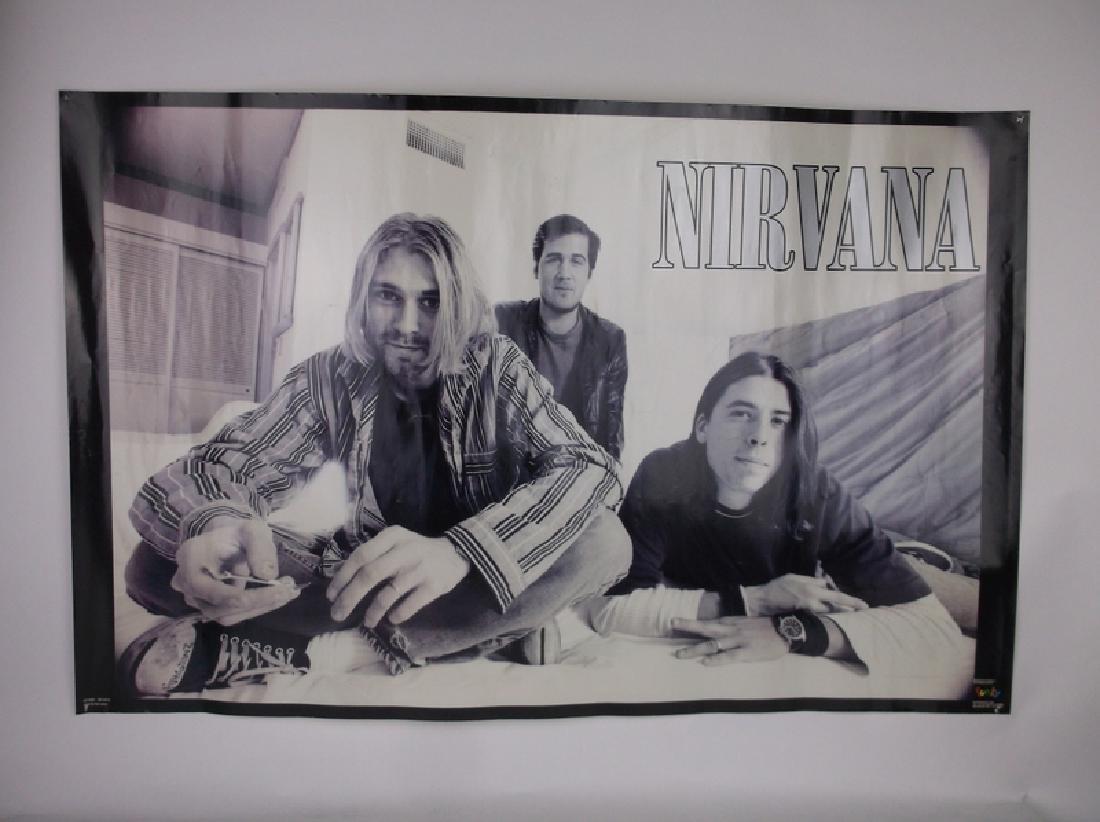 Vint Funky 1996 Nirvana Rock Band Poster