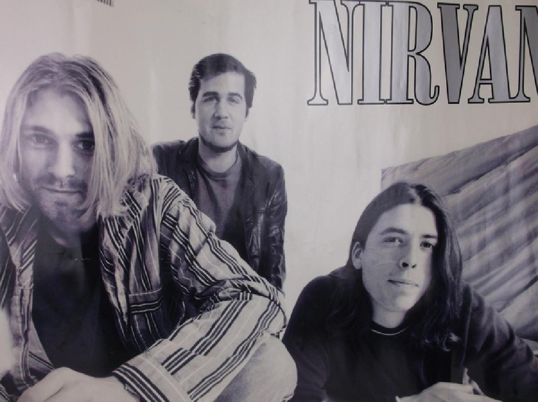 Vint Funky 1996 Nirvana Rock Band Poster - 4