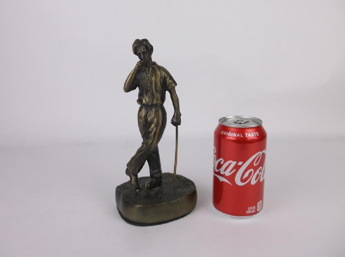 Gorgeous Bronze Golfer Golf Statue 9 Inch