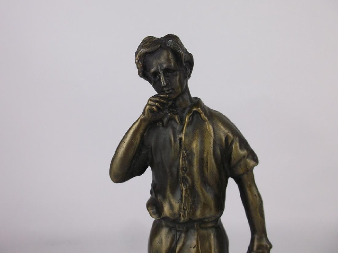 Gorgeous Bronze Golfer Golf Statue 9 Inch - 2