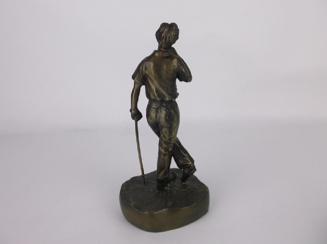 Gorgeous Bronze Golfer Golf Statue 9 Inch - 4