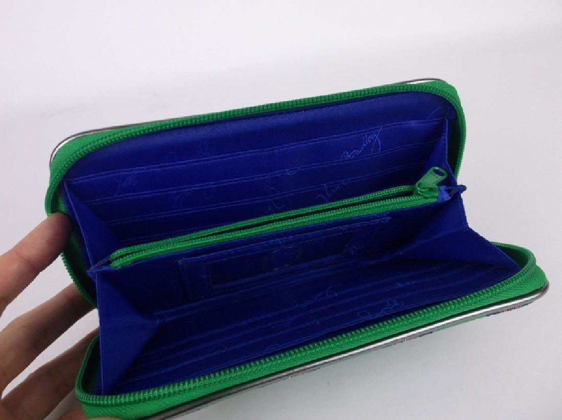 Gorgeous Vera Bradley Green Wallet - 4