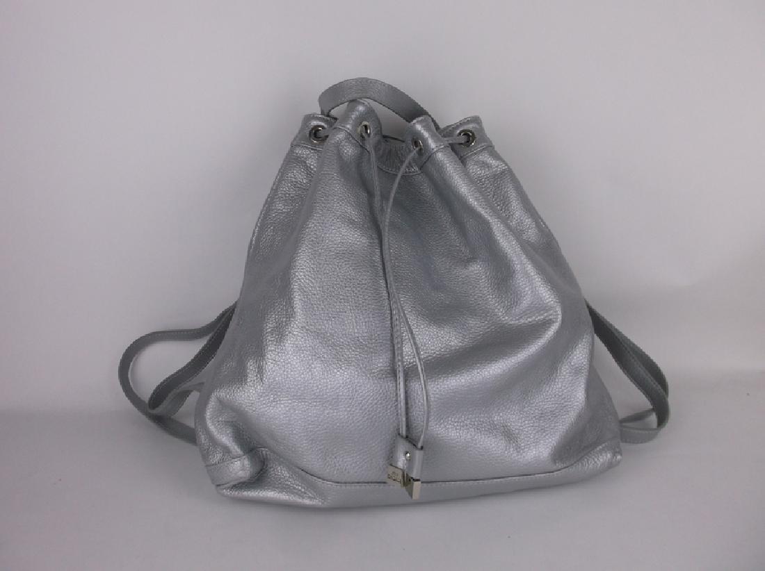 Alberta Di Canio Italian Leather Handbag Backpack
