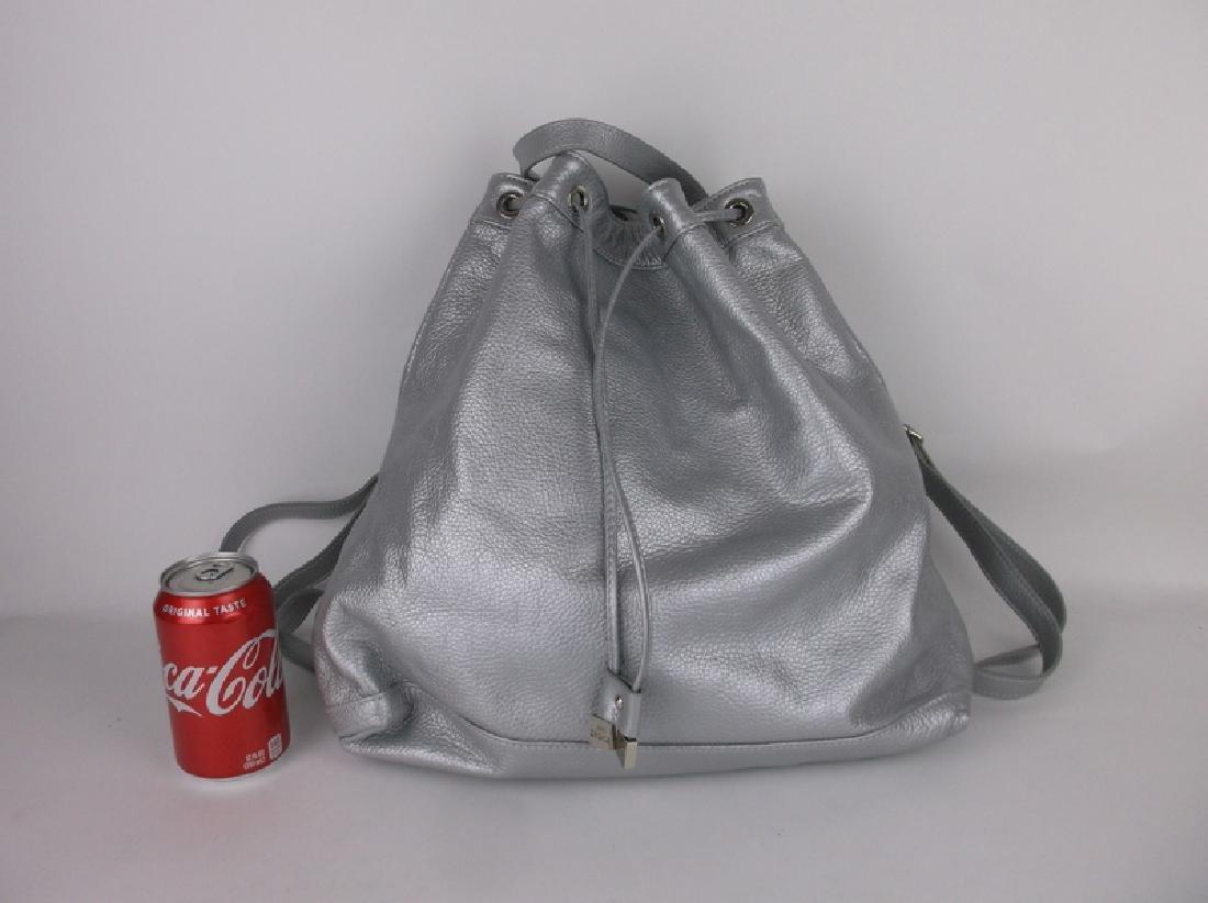 Alberta Di Canio Italian Leather Handbag Backpack - 2