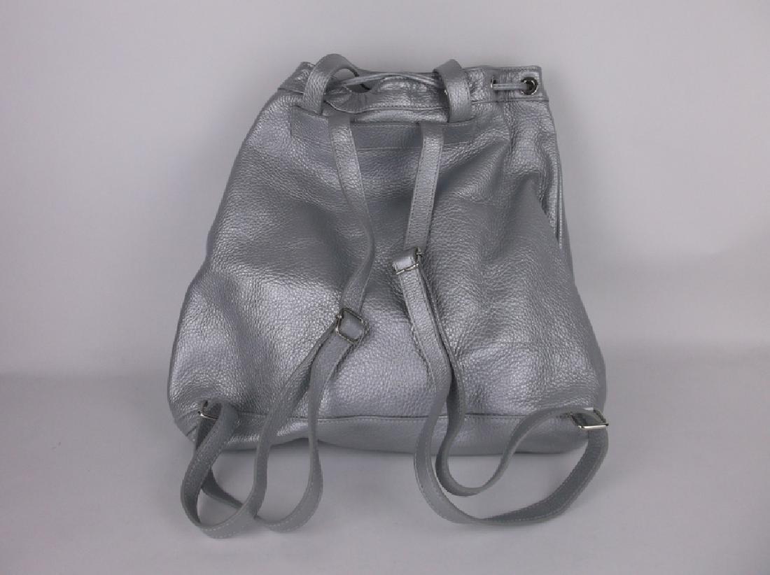 Alberta Di Canio Italian Leather Handbag Backpack - 3