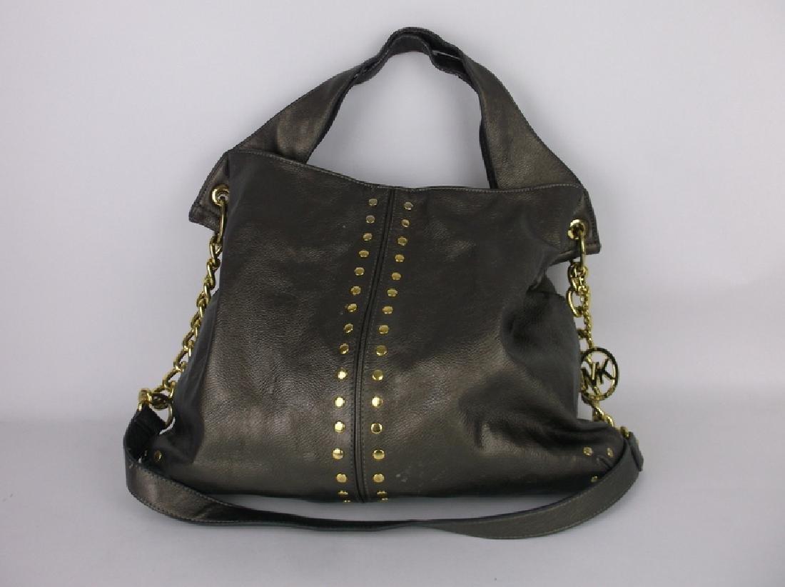 Large Michael Kors Leather Handbag Purse