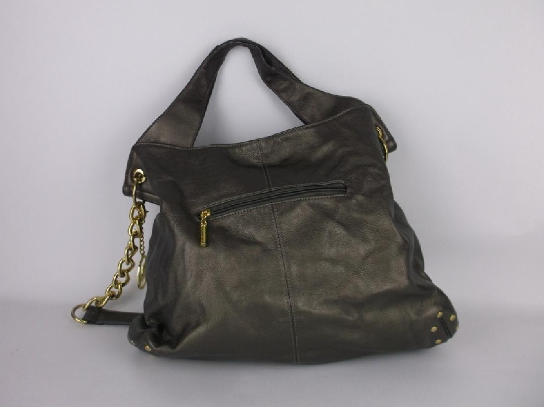 Large Michael Kors Leather Handbag Purse - 4