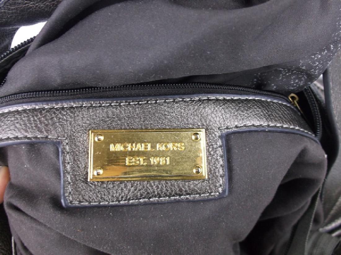 Large Michael Kors Leather Handbag Purse - 5