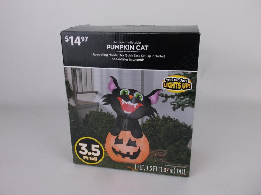 New Halloween Cat Airblown Inflatable Lighted