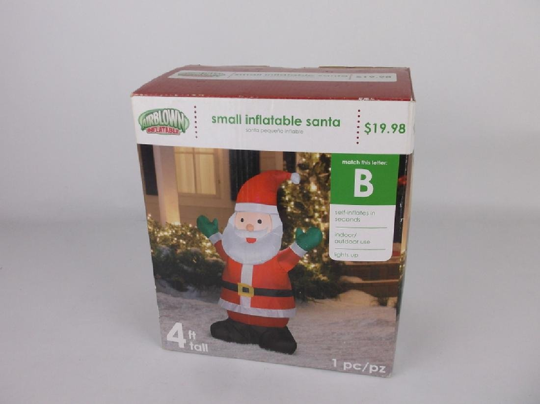 New Santa Airblown Inflatable Lighted Christmas