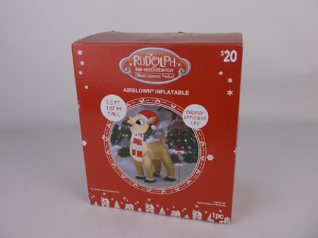 New Rudolph Airblown Inflatable Lighted Christmas