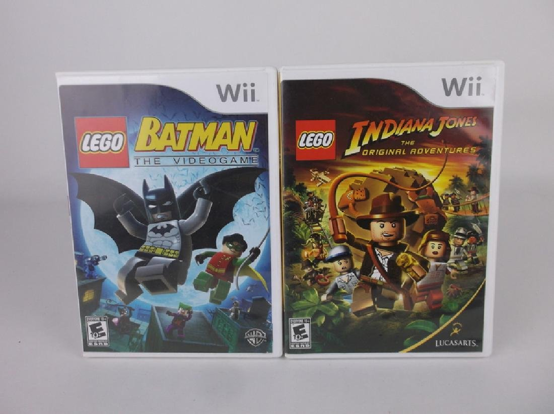 Nintendo Wii Lego Batman Indian Jones Games