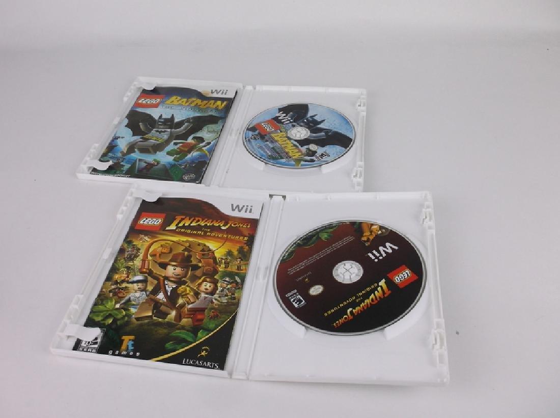 Nintendo Wii Lego Batman Indian Jones Games - 2