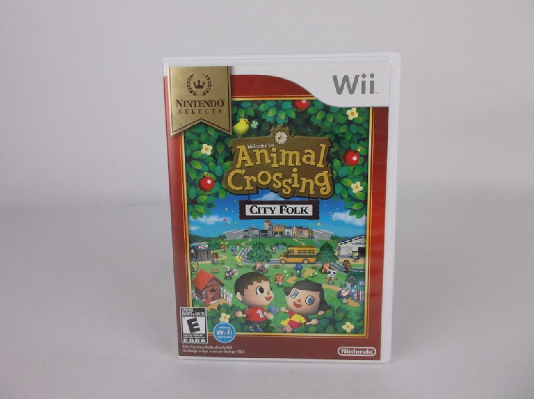 Nintendo Wii Animal Crossing City Folk Game