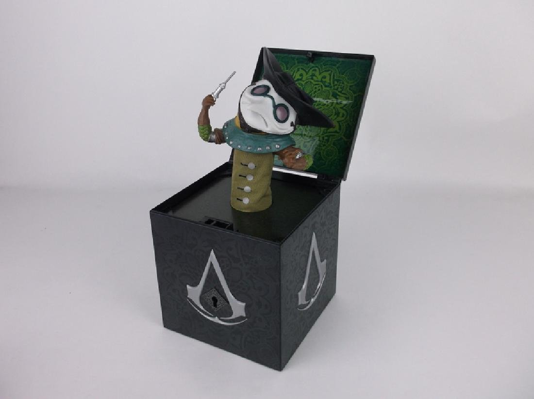 2010 Assassins Creed Doctor Jack in the Box Rare