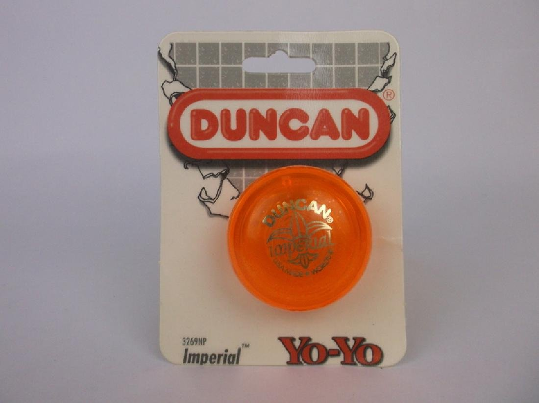 Vint 1997 Duncan Imperial Yoyo Orange Sealed 3269NP