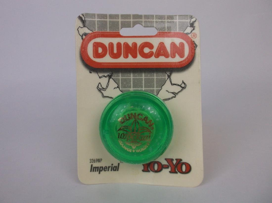 Vint 1997 Duncan Imperial Yoyo Green Sealed 3269NP