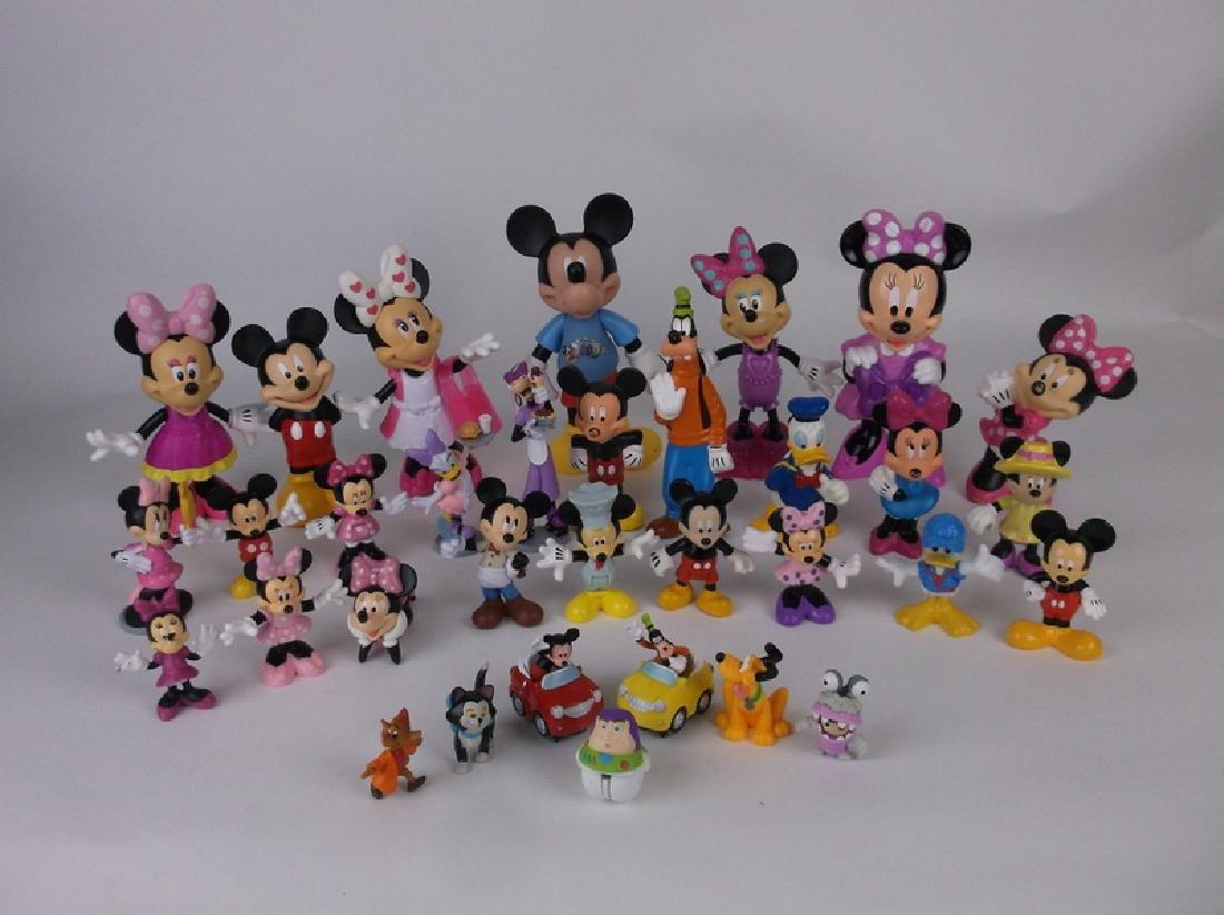 Huge Disney Mickey Minnie Mouse Figures Lot