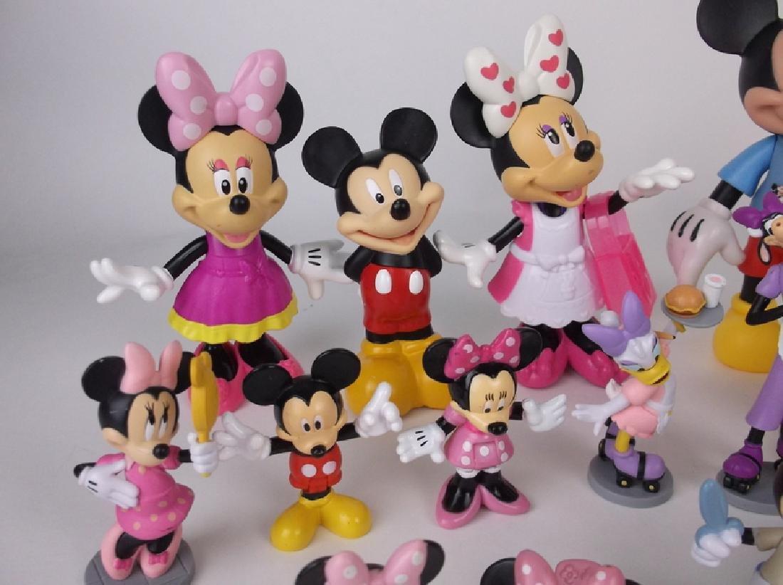 Huge Disney Mickey Minnie Mouse Figures Lot - 2
