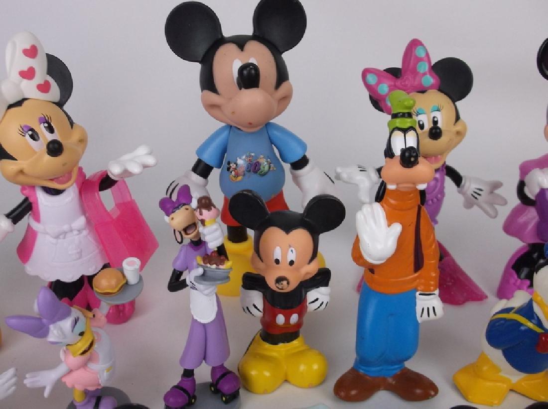 Huge Disney Mickey Minnie Mouse Figures Lot - 3
