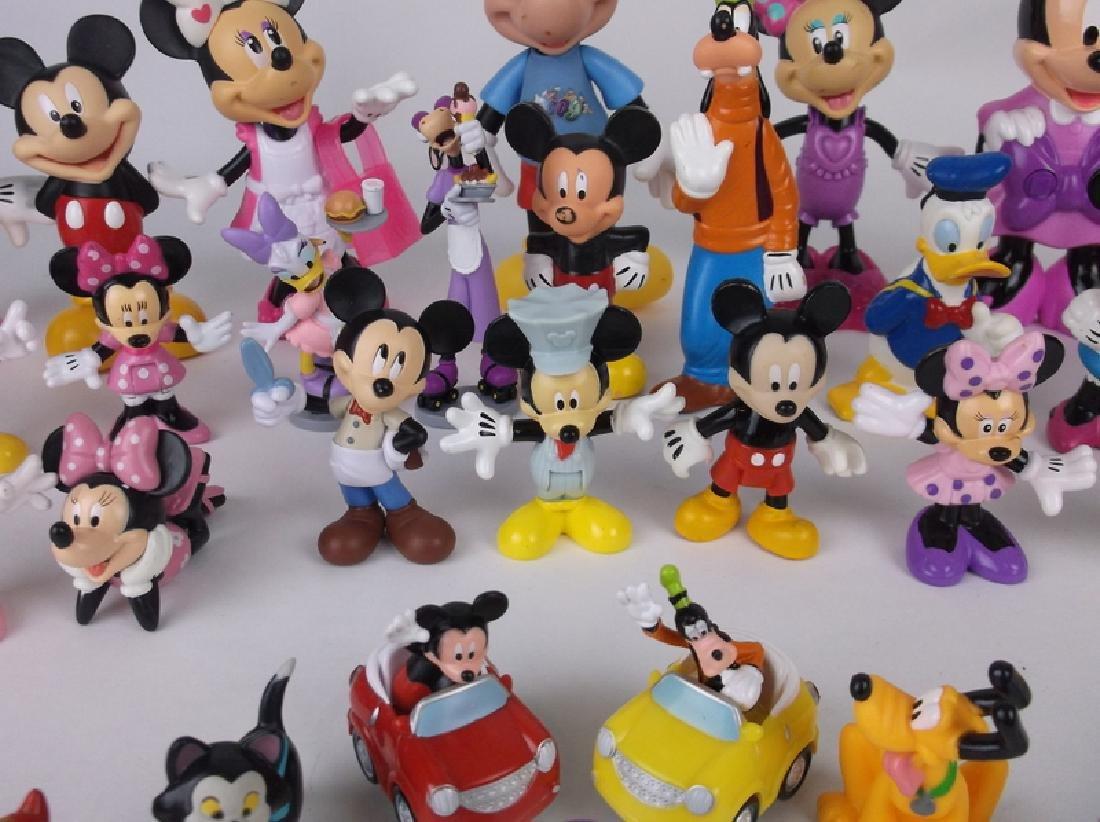 Huge Disney Mickey Minnie Mouse Figures Lot - 6