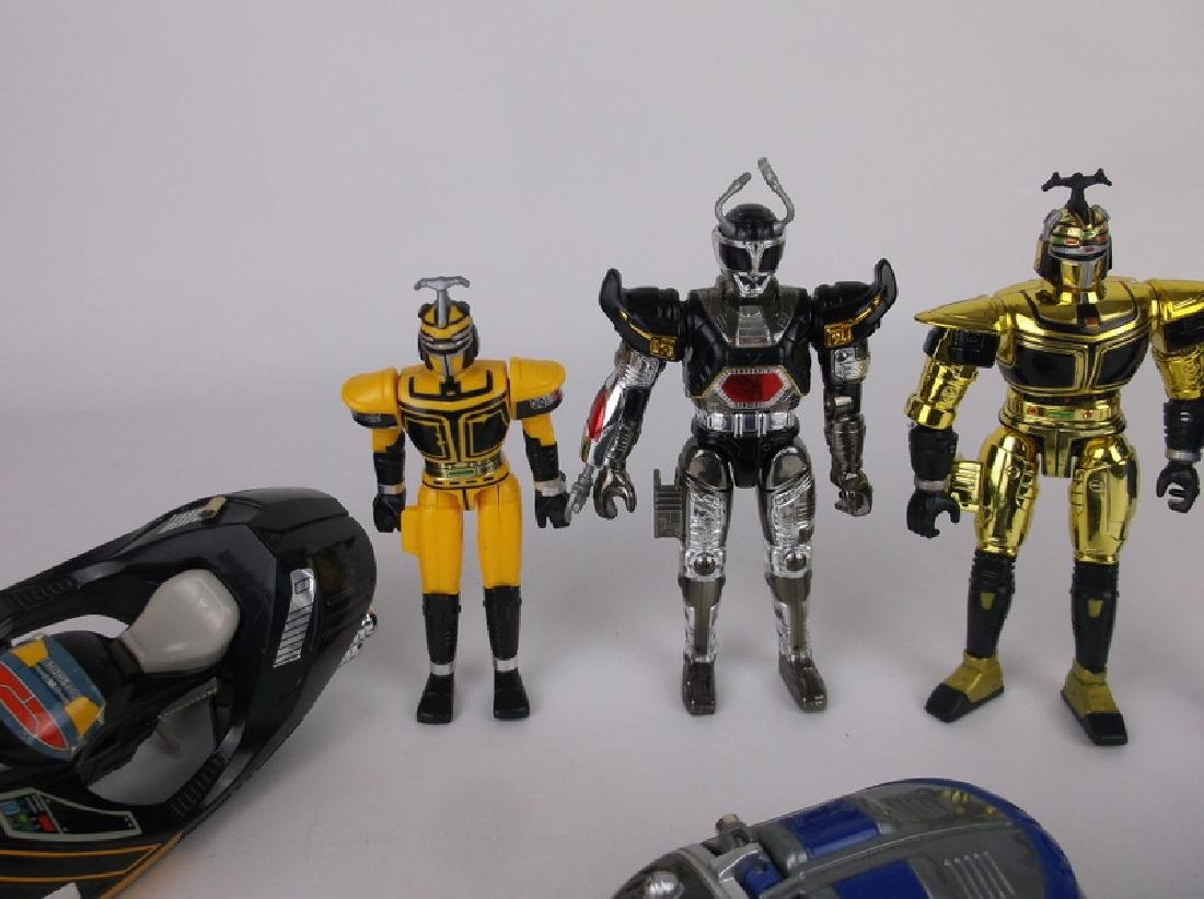 Great 1996 Banda BeetleZorgs Action Figures Lot - 3
