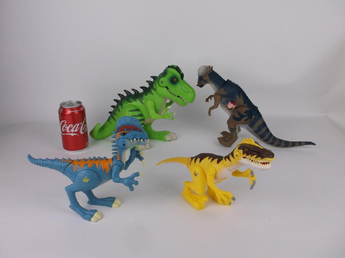 Large Jurassic Park & World Dinosaurs Lot Sounds Lights