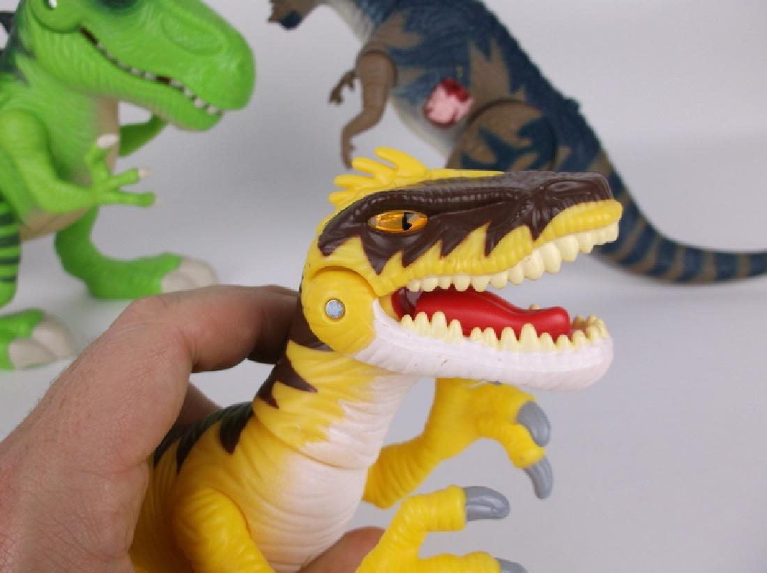 Large Jurassic Park & World Dinosaurs Lot Sounds Lights - 5