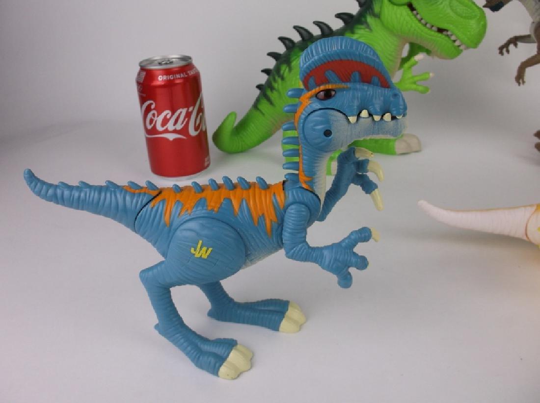 Large Jurassic Park & World Dinosaurs Lot Sounds Lights - 6