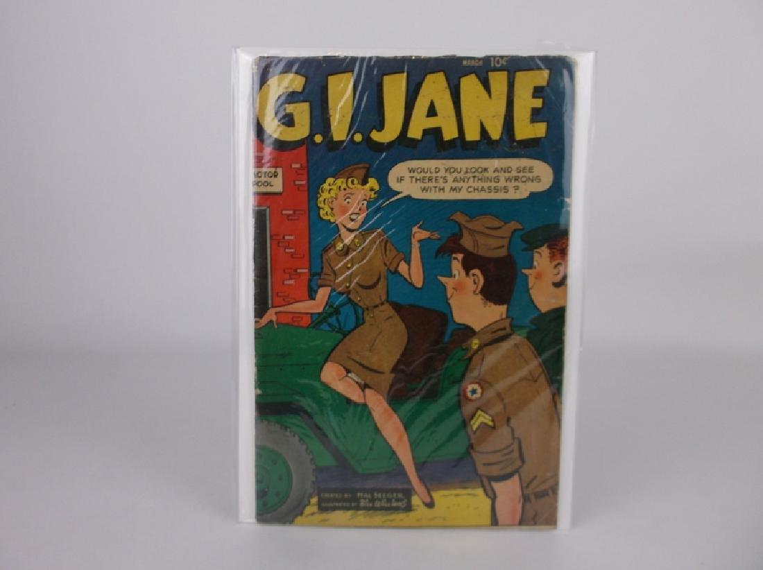 1954 GI Jane Comic Book #6 Golden Age