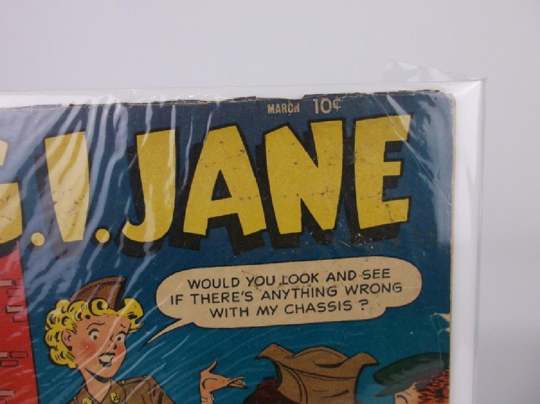 1954 GI Jane Comic Book #6 Golden Age - 2