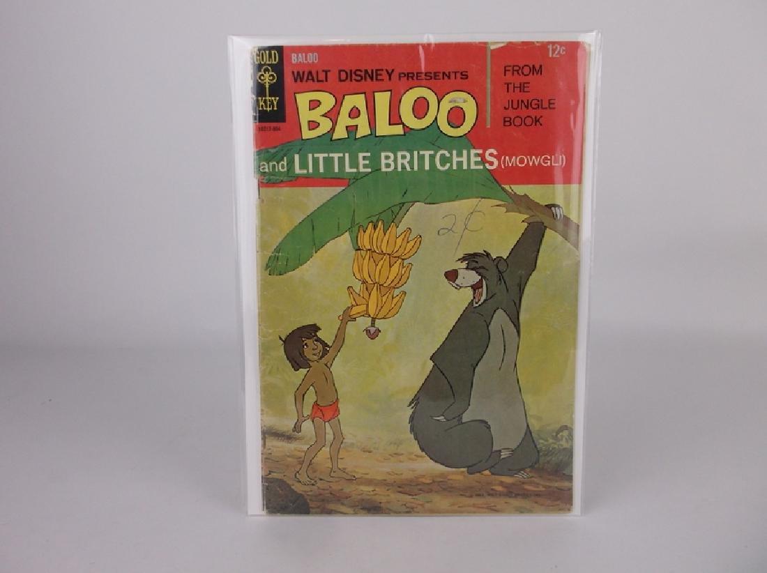 1968 Disney Jungle Book Comic Book #1
